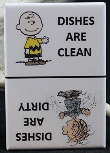 Clean / Dirty Pigpen & Charlie Brown - Dishwasher Magnet. Peanuts Player One Collectables http://www.amazon.com/dp/B0192EEM80/ref=cm_sw_r_pi_dp_7ksSwb03YGRXH