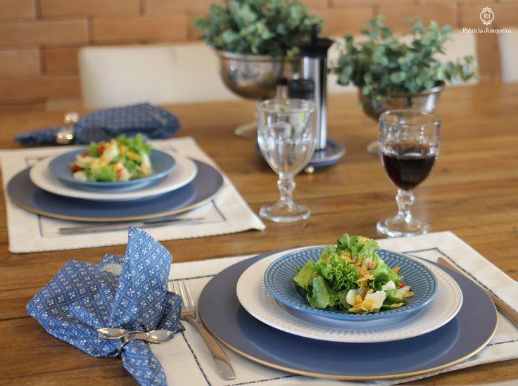 Decoração de mesa para almoço por Patricia Junqueira