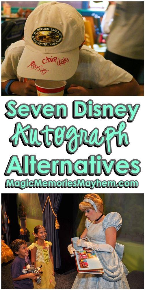 Disney Autograph Ideas