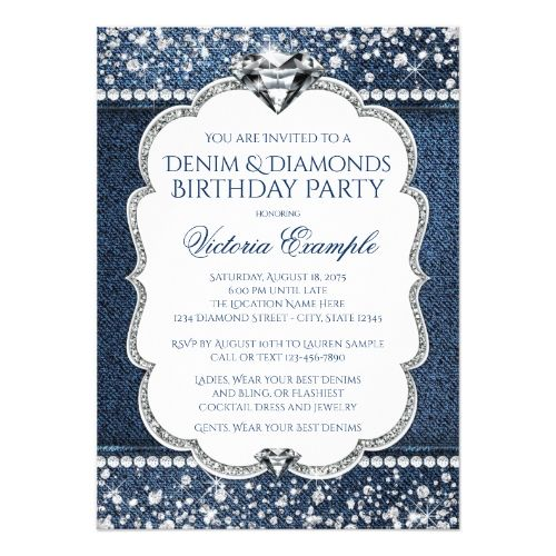 125 best 50th Birthday Party Invitation images – 50th Birthday Party Invite