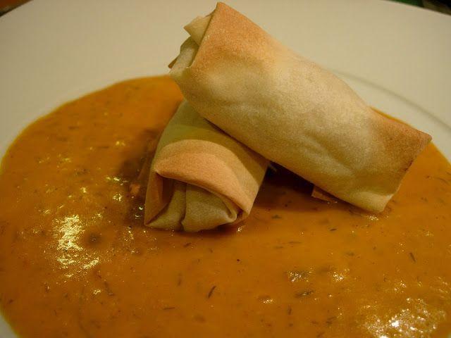 As Receitas da Patanisca: Rolinhos de peixe com molho indiano Parmalat