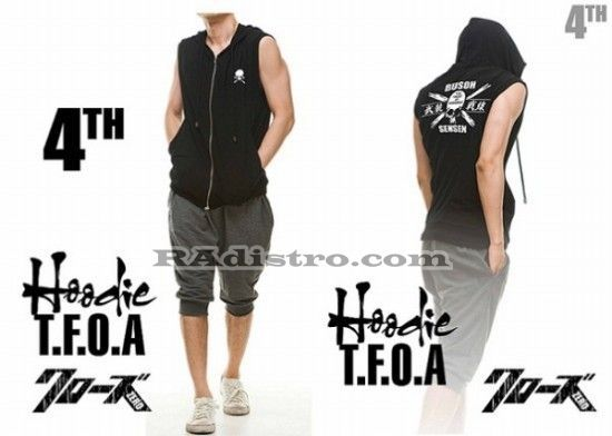 jual jaket crows zero online murah TFOA The Front Of Armament A 5 HOODIE