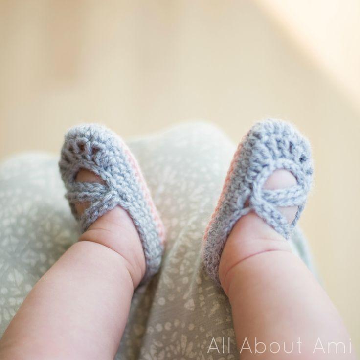 Crochet Mary Jane Baby Shoes Free Pattern Mindwise