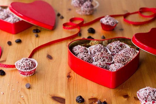 Dark Chocolate Cherry Walnut Truffles | Decadent Desserts | Pinterest