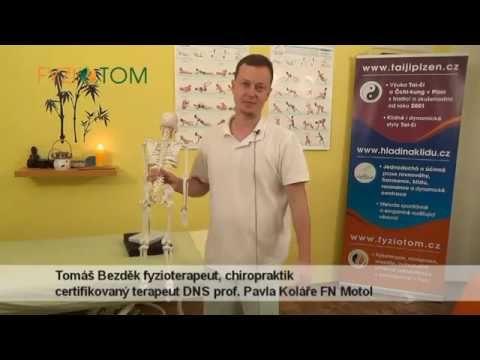 www.fyziotom.cz - Odblokování přechodu krční - hrudní (C-Th) páteře sám na sobě - YouTube