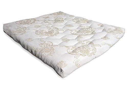 ADiamond LUX8T3FC Luxurious Organic Cotton And Foam Futon Mattress  8Luxurious Twin *** Be Sure