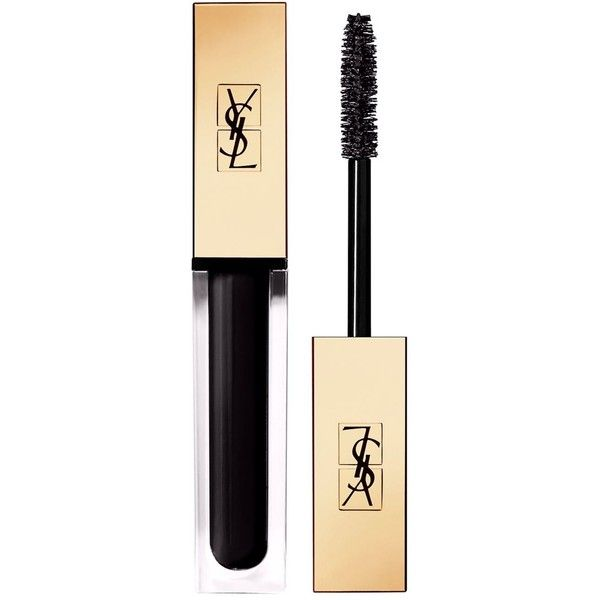 YSL Vinyl Couture Mascara ($34) ❤ liked on Polyvore featuring beauty products, makeup, eye makeup, mascara, glossy eye makeup, lengthening mascara, polishing kit, yves saint laurent and yves saint laurent mascara