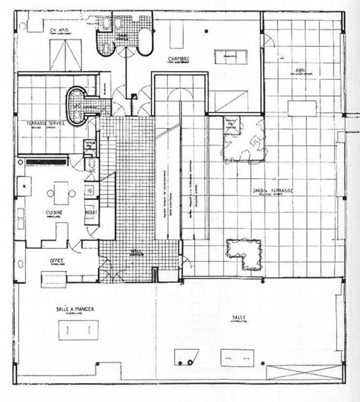 Villa Savoye Plan | www.imgkid.com - The Image Kid Has It!
