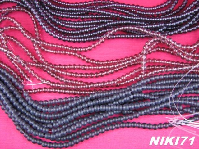 Light, Dark & Frosted Purple Glass Beads. Starting at $6 on Tophatter.com!