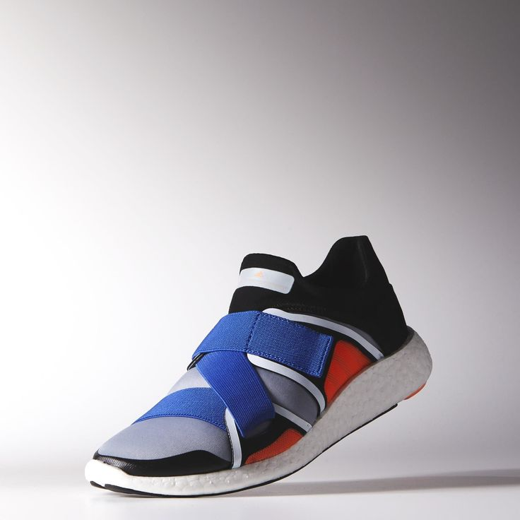 The adidas Pure Boost gets a fashion upgrade during it collaborative efforts with fashion designer, Stella McCartney.