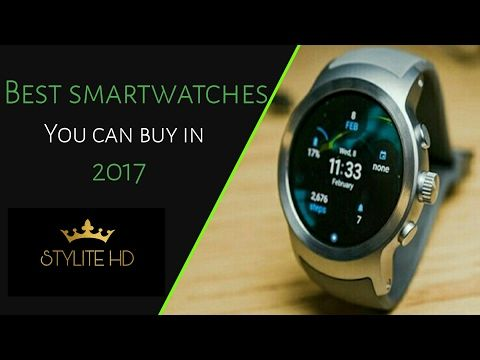 Top 5 Smartwatches 2017