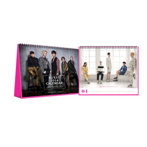[2014 K-POP Season Greeting] Nu'est Idol Memorable Collection (Calendar+Sticker)
