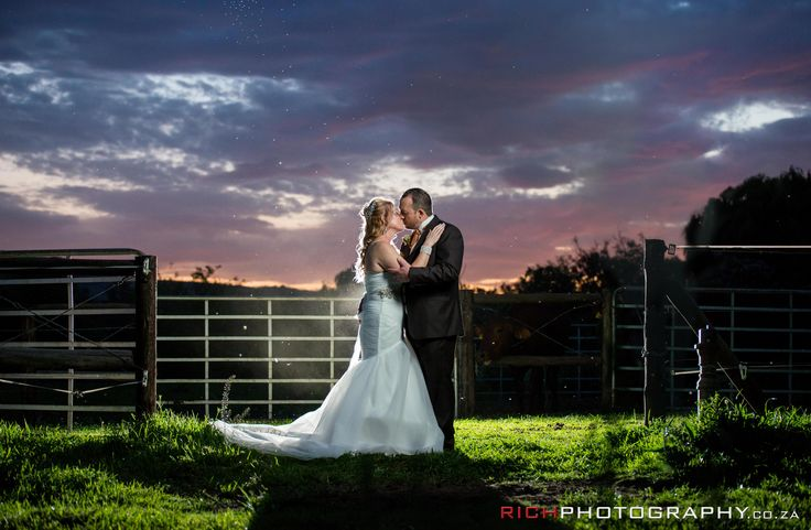 Elegant night shoot wedding ideas