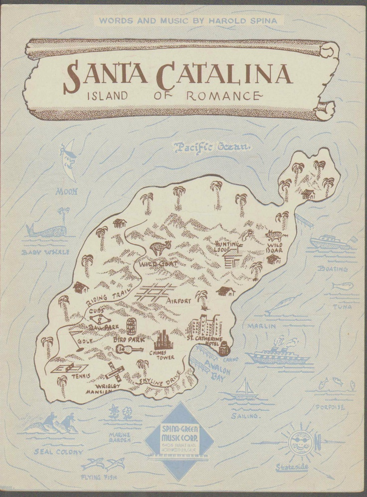 Best Catalina Images On Pinterest Spa Southern California - Catalina island on us map