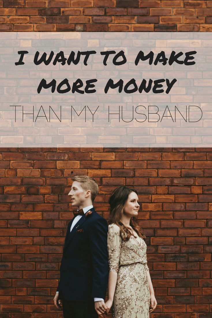 I want to make more money than my husband to prove that I can. Countless studies have proven that women in Public Relations make less than men. In general, less women are placed in CEO positions, and therefore make less money than men - regardless of their profession. Maybe that is because less women push for it, I don't know, I'm not Google. But I know that I'm not going to be another sad statistic.