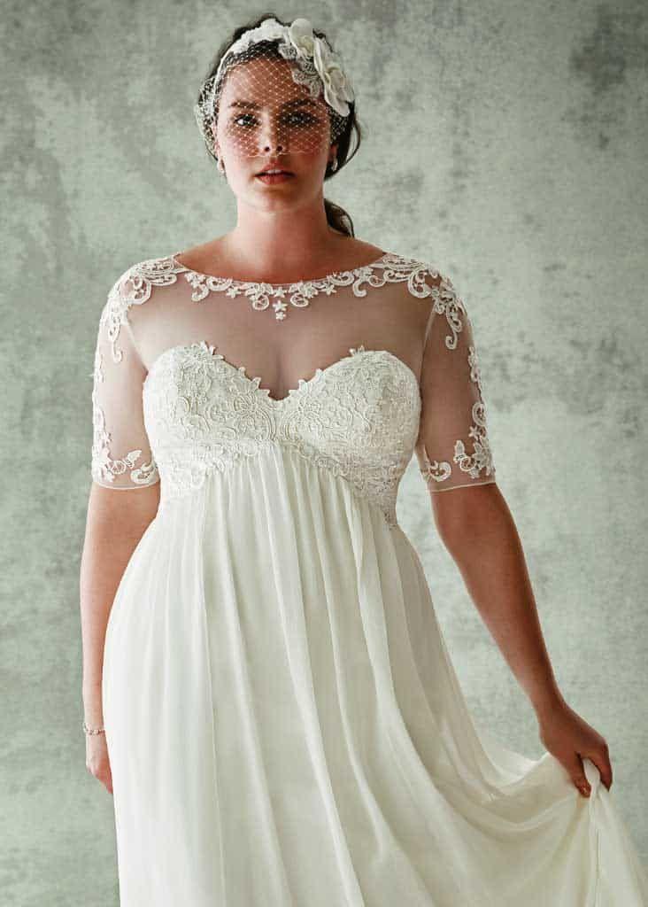 10 Stunning Plus Size Wedding Dresses, Tips & Advice ...