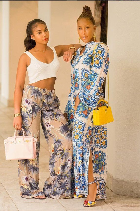 Marjorie and Lori Harvey - Marjorie and Lori Harvey May Be The Chicest Mother-Daughter Duo—Here's Proof!