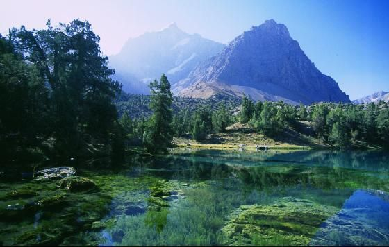 Ancient grandeur and nature at its purest find communion in Tajikistan.