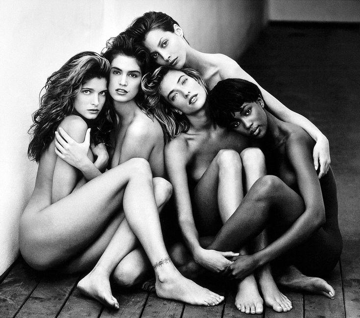 Stephanie, Cindy, Christy, Tatjana and Naomi. THE supermodels.