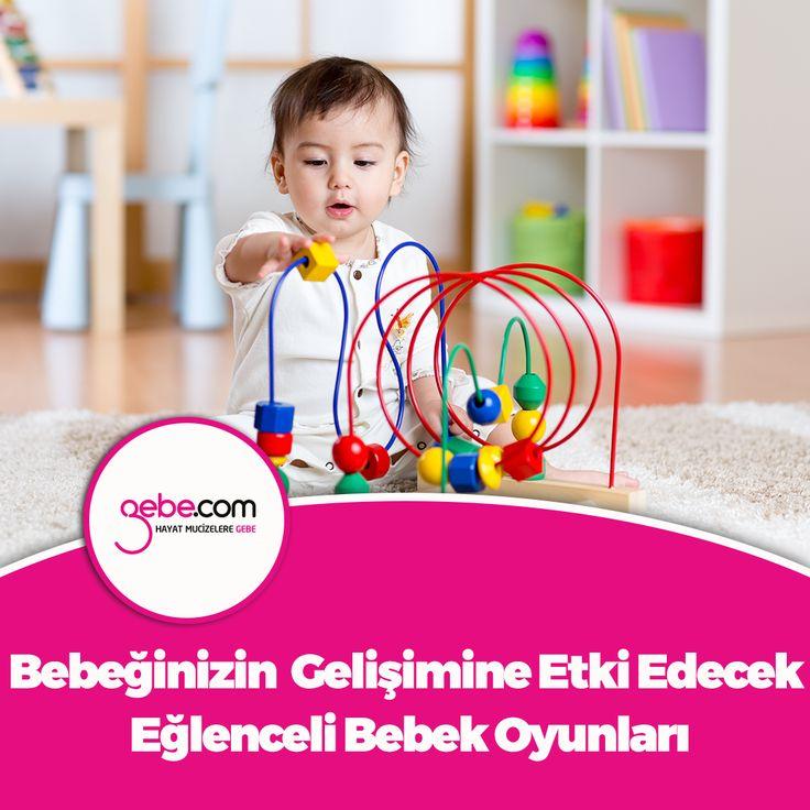Bebeğinizin zeka ve beyin gelişimine etki edecek eğlenceli bebek oyunları. #gebecom #gebeonline #hamile #gebe  ▶️goo.gl/6dPpwm