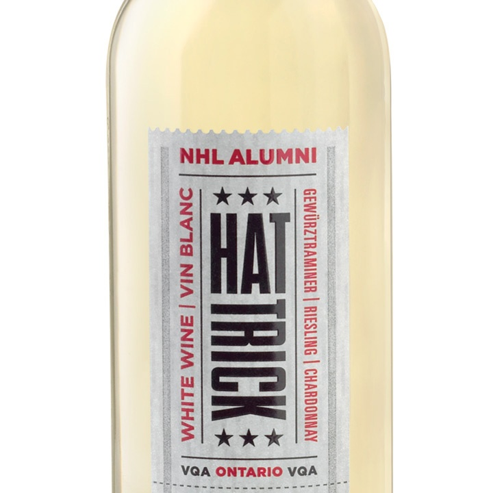 Hockey plus Hat Trick wine is the ultimate pairing. Toast to your team with this winning white wine from #LCBO. #airmiles #playoffs
