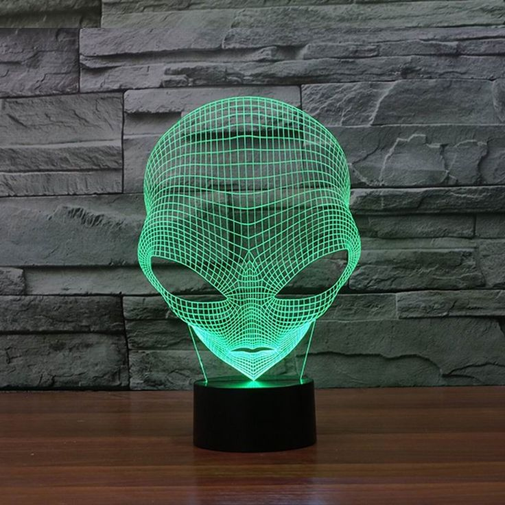 3D Alien Night Lamp