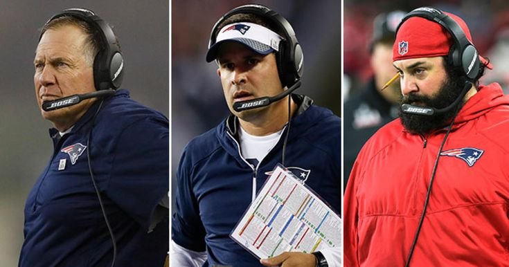 New England Patriots Head Coach Bill Belichick, Offensive Coordinator Josh McDaniels, and Defensive Coordinator Matt Patricia address the media during their conference calls on Monday, January 1, 2018.
