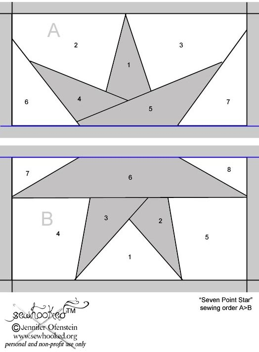 56 best images about Quilts - paper piecing on Pinterest Quilt, Paper piecing patterns and Paper