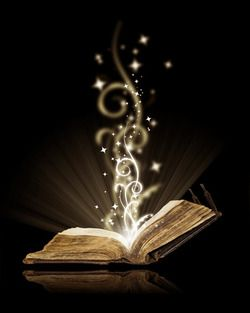 Reading is magical. I want a tattoo like this. On my foot perhaps?,