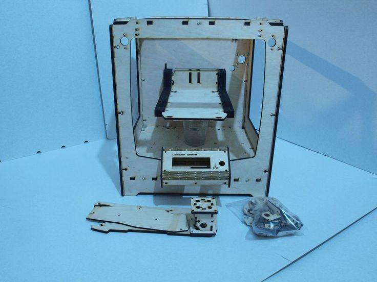 3D Printer Reprap Ultimaker original clone Frame Laser Cut PlyWood panel kit/set 6 mm/4mm