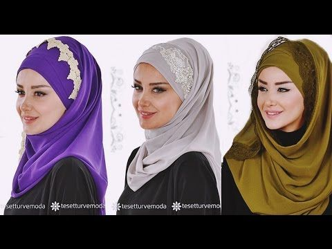 Mükemmel Şal Modelleri @tesetturvemoda - YouTube