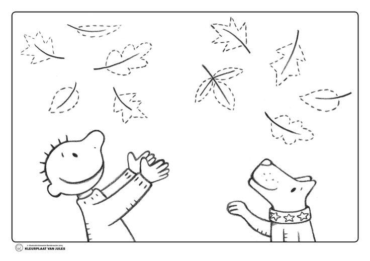 Jules herfst blaadjes