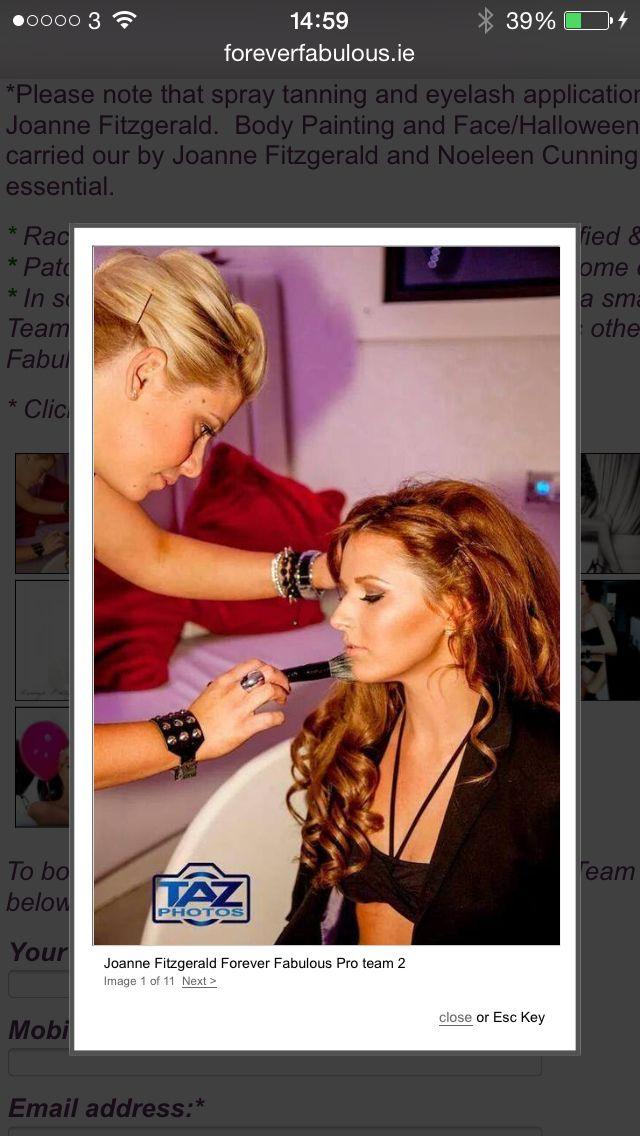 Pro team looks by Joanne www.foreverfabulous.ie