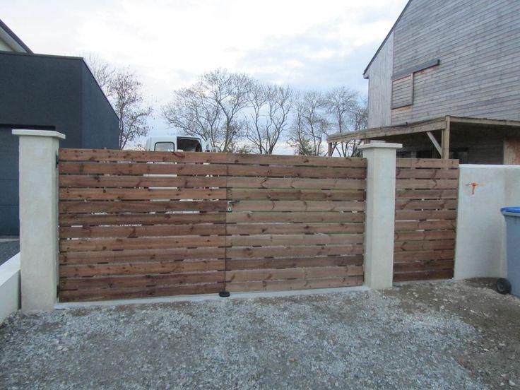 """Cette semaine, je me permets de faire un petit """"Do It Yourself"""" sur comment fabriquer un portail battant en bois. Afin de faire des économies sur ce poste de dépense, j'ai entrepris de fabriquer un portail et un portillon en bois. Les produits du commerce..."""