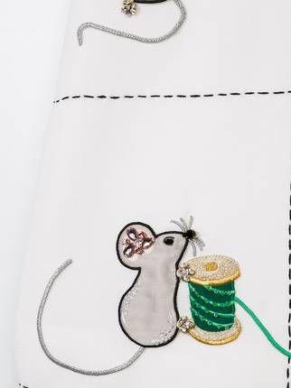 Dolce & Gabbana Kids платье с вышивкой