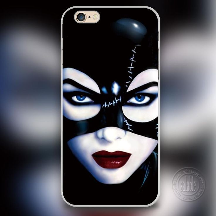 Marvel Batman Catwoman Phone Case for iPhone 7 6 6S Plus 4 4S 5C 5 SE 5S Cover