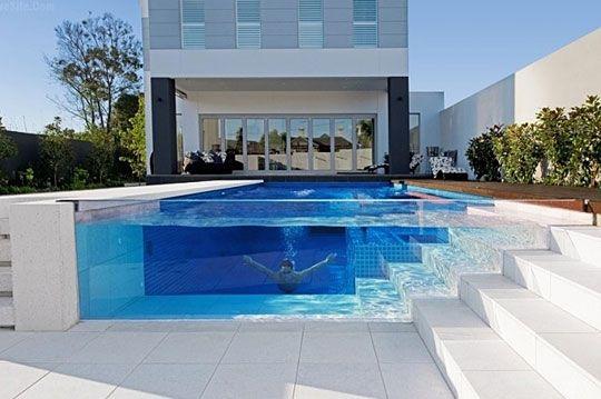 Aquarium poolIdeas, Swimming Pools, Future House, Dreams House, Glasses Pools, Places, Architecture, Dreams Pools, Design