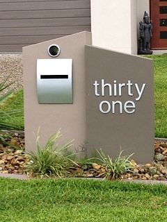 Brick Mailboxes Ideas | related keywords brick concrete mailboxes concrete mailboxes ...