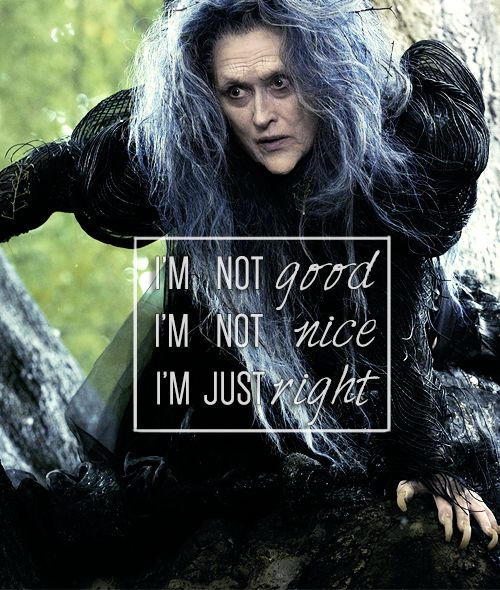 Meryl Streep as The Which in the upcoming adaptation of Into the Woods