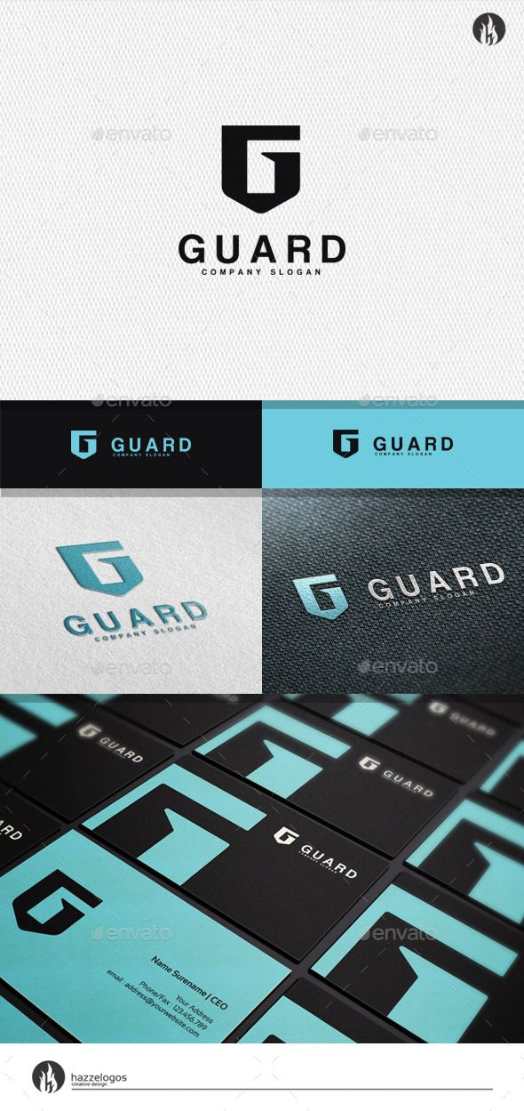 Remarkable Guard Letter G Logo PSD Template • Only available here ➝ http://graphicriver.net/item/guard-letter-g-logo/11778908?ref=pxcr