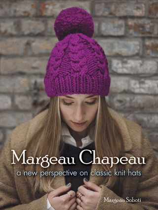 Fifteen stylish patterns, all within the capacity of novice knitters, offer a variety of attractive options. Traditional and trendy hats include a watch cap, lattice pattern beanie, turban headband, tweed cap, and more.