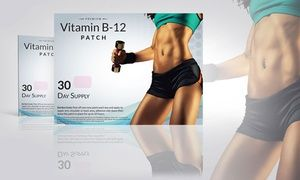 Groupon - 30-Pack of Vitamin B12 and Guarana Slimming Patches. Groupon deal price: $12.99