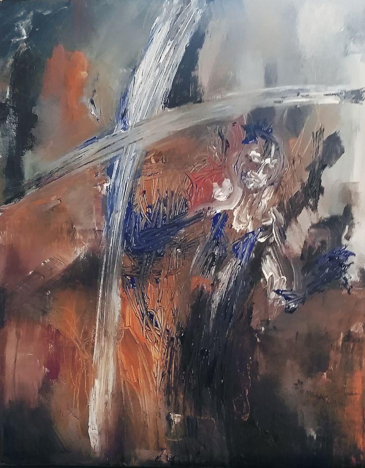 Abstract painting, Painting Acrylic on canvas 30x40cm by Elena Ci on Pinterest http://it.pinterest.com/87elleci