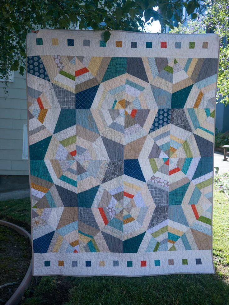 593 best images about Quilts - Curves/Circles/Half Circles ... - photo#17