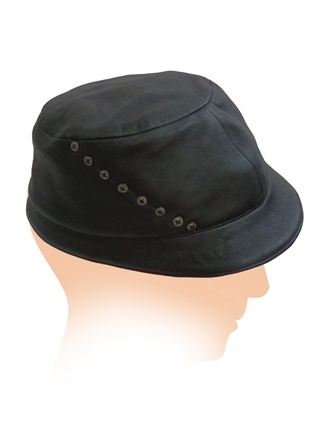 Leather Hat - Psylo Fashion - NEW ARRIVAL