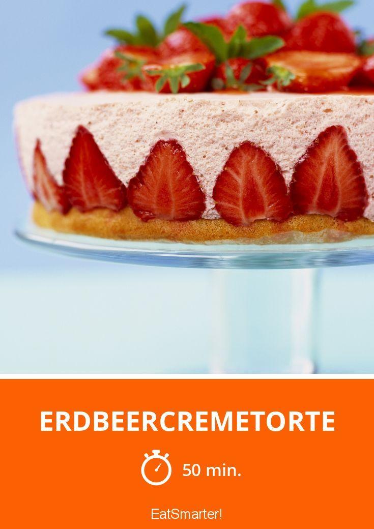 Erdbeercremetorte - smarter - Zeit: 50 Min. | eatsmarter.de