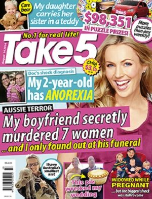 Take 5 - 14 August 2014 #magazines #magsmoveme  http://www.take5mag.com.au/