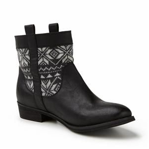 CONTRAST BOOT