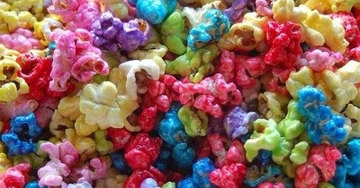 Fabulosa receta para Palomitas de colores.