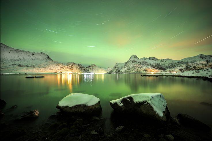 Lofoten stardust by Alessandro Bartolini on 500px
